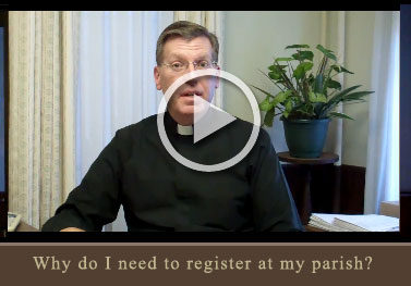 Why do I need to register at my parish?